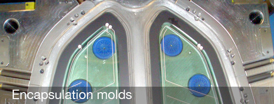 Encapsulation Molds by Ca Stampi Srl Italy