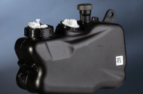 Fuel tank for motorcycle