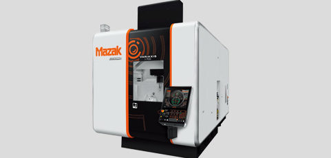 The new MAZAK VARIAXIS I700 5-axis milling machine